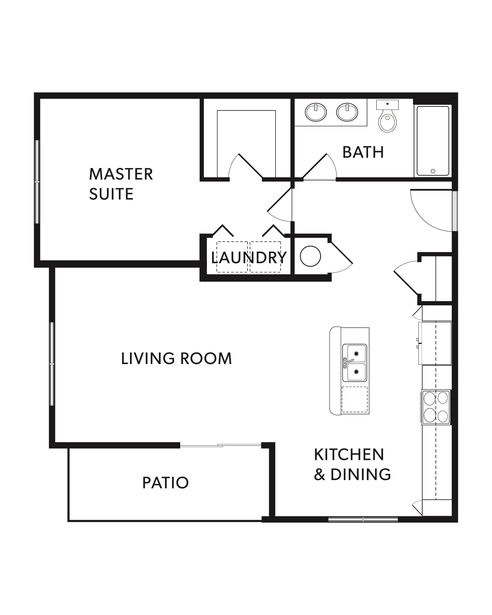 The Elliott Floor Plan