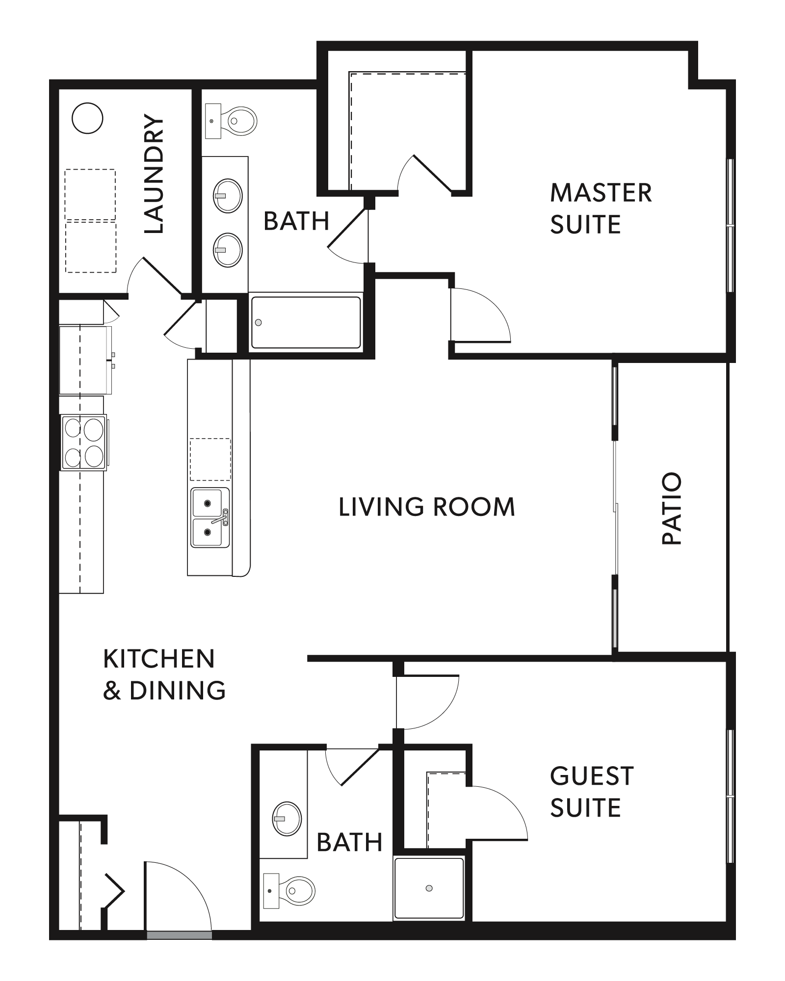 The Remy 2 Floor Plan